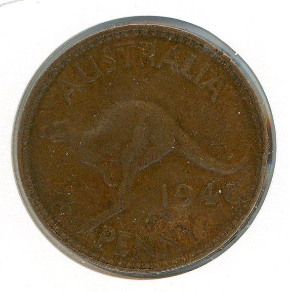 Thumbnail for 1946 Australian One Penny  (Z)