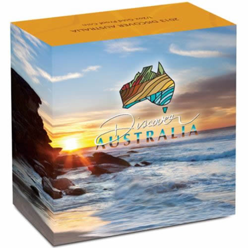 Thumbnail for 2013 Discover Australia Half oz Gold Proof Kookaburra