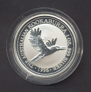 Thumbnail for 1996 Australian 1oz Silver Coin Kookaburra - Foundation Stone Centenary