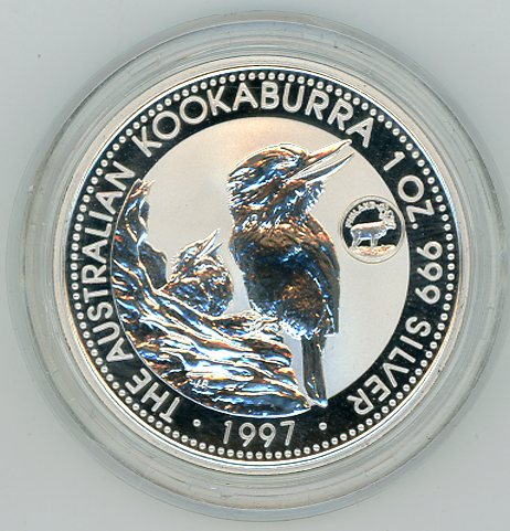 Thumbnail for 1997 1oz Kookaburra European country Privy Mark Series - Finland