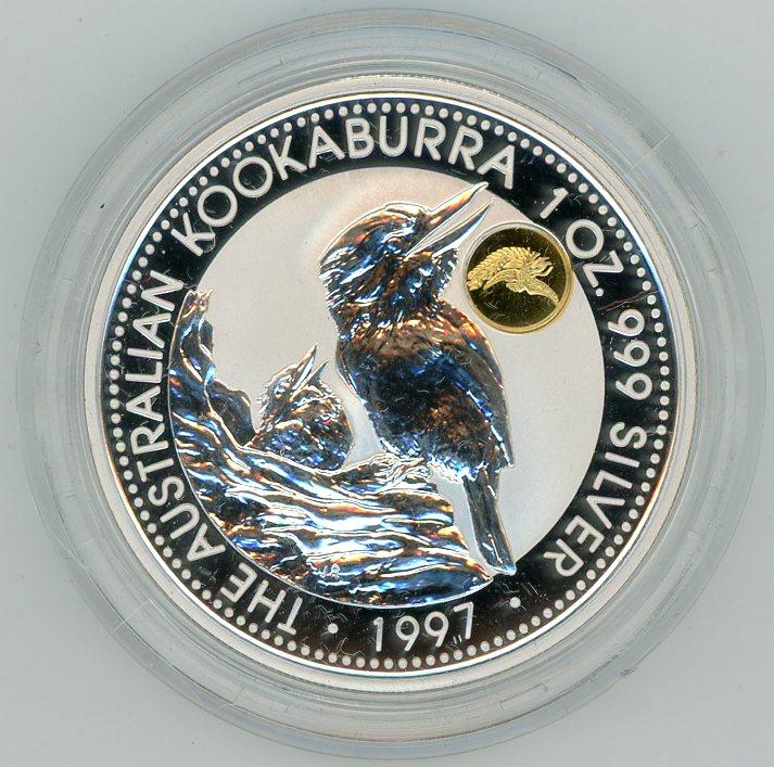Thumbnail for 1997 1oz Silver Kookaburra - Phoenix Gold Privy Mark