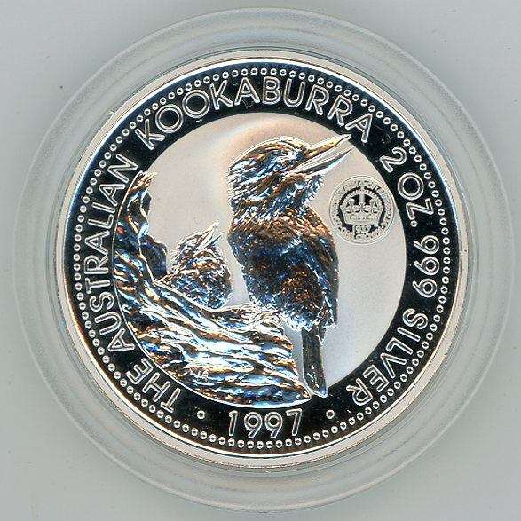 Thumbnail for 1997 2oz Kookaburra Specimen with Crown Privy