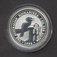 Thumbnail for 1998 1oz Kookaburra European Country Privy Mark Series - Austria