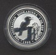 Thumbnail for 1998 1oz Kookaburra European Country Privy Mark Series - Sweden