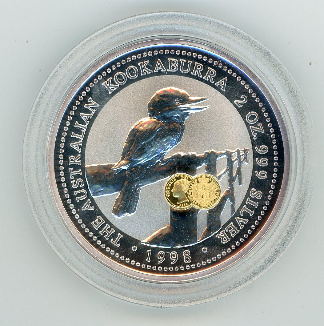 Thumbnail for 1998 2oz Silver Kookaburra - Shield Privy
