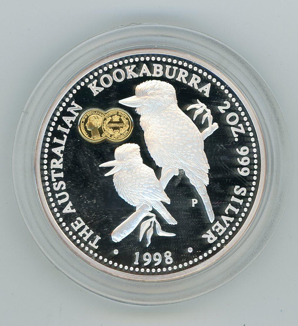Thumbnail for 1998 2oz Silver Kookaburra - Sydney Mint Privy