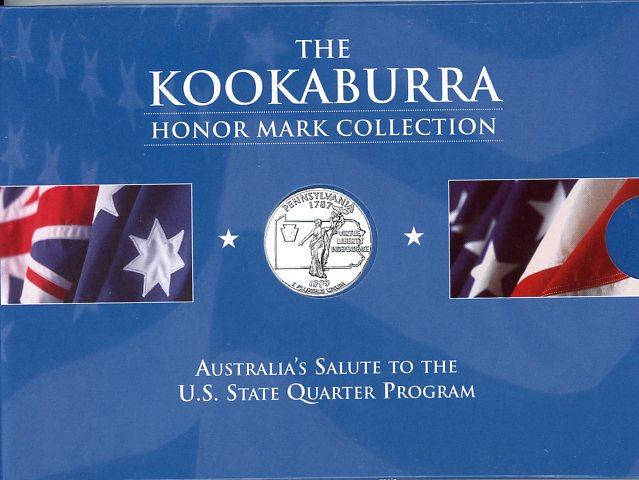 Thumbnail for 1999 1oz Kookaburra Honor Mark Collection - Pennsylvania