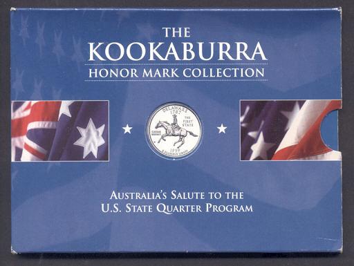 Thumbnail for 1999 1oz Kookaburra Honor Mark Collection - Delaware