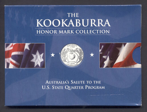 Thumbnail for 1999 1oz Kookaburra Honor Mark Collection - Georgia
