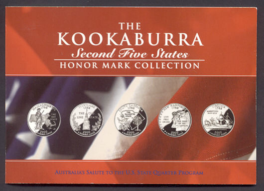 Thumbnail for 2000 2oz Kookaburra Honor Mark Collection - Second Five US States