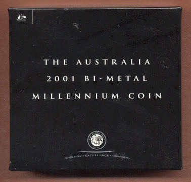 Thumbnail for 2001 Australian Bi-Metal Millenium Coin