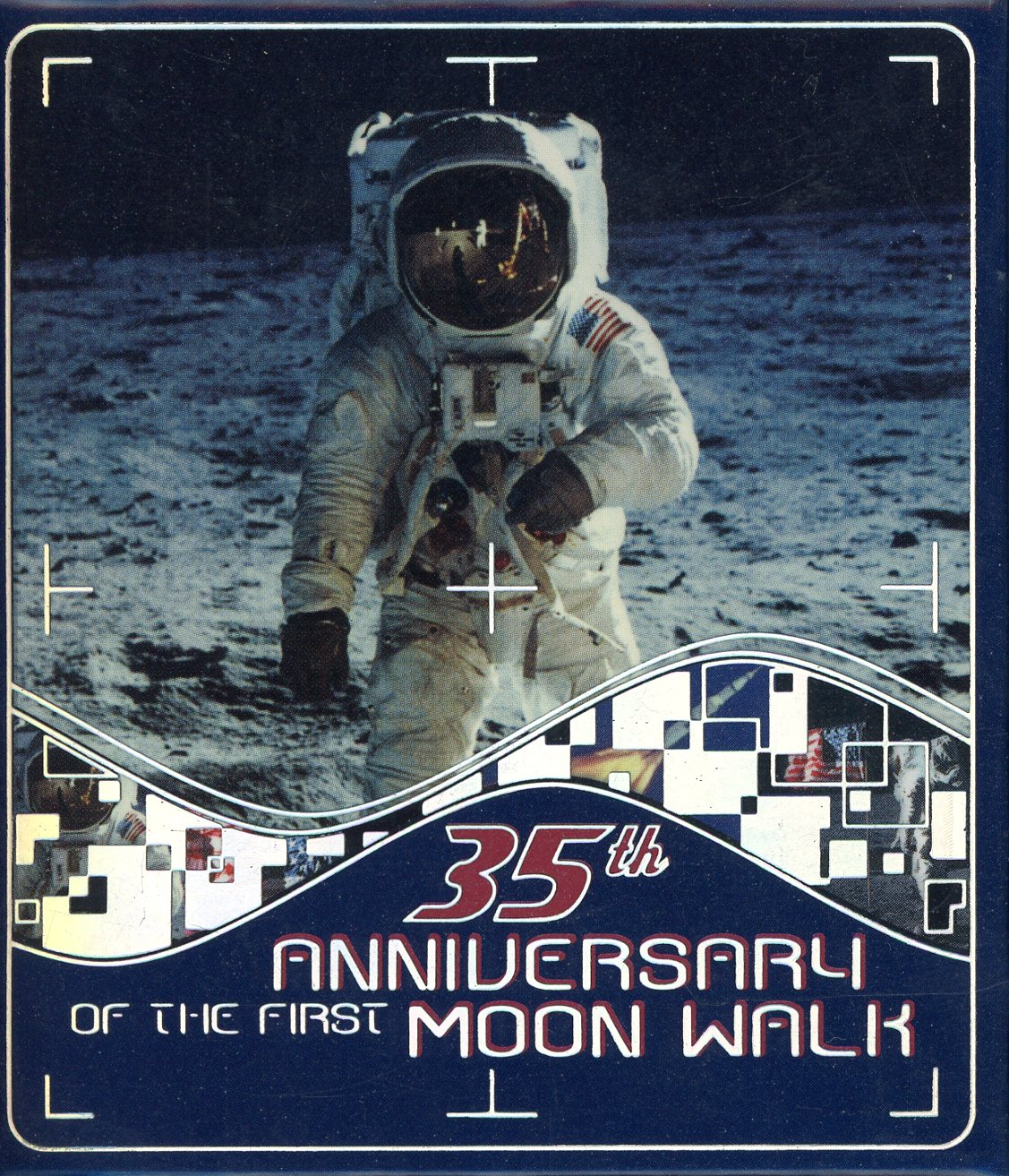 Thumbnail for 2004 1oz Silver Proof - 35th Anniversary 1st Moon Walk