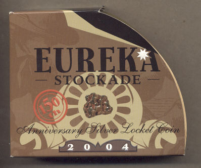 Thumbnail for 2004 Eureka Stockade 150th Anniversary Silver Locket Coin