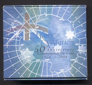Thumbnail for 2004 1oz Silver Coin - Mawson Station 50th Anniversary