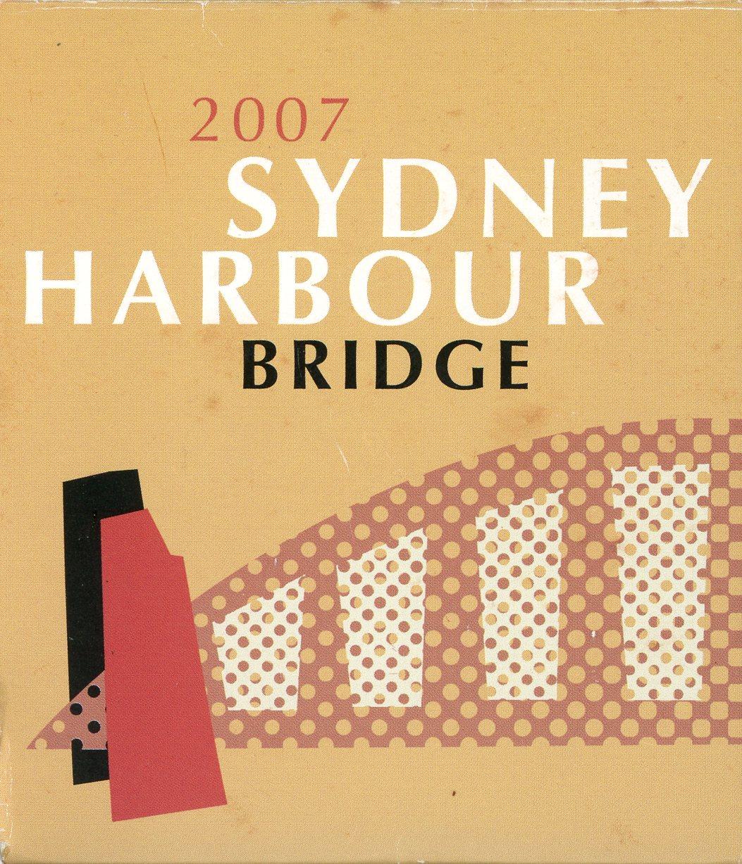 Thumbnail for 2007 1oz Coloured Silver Coin - Sydney Harbour Bridge