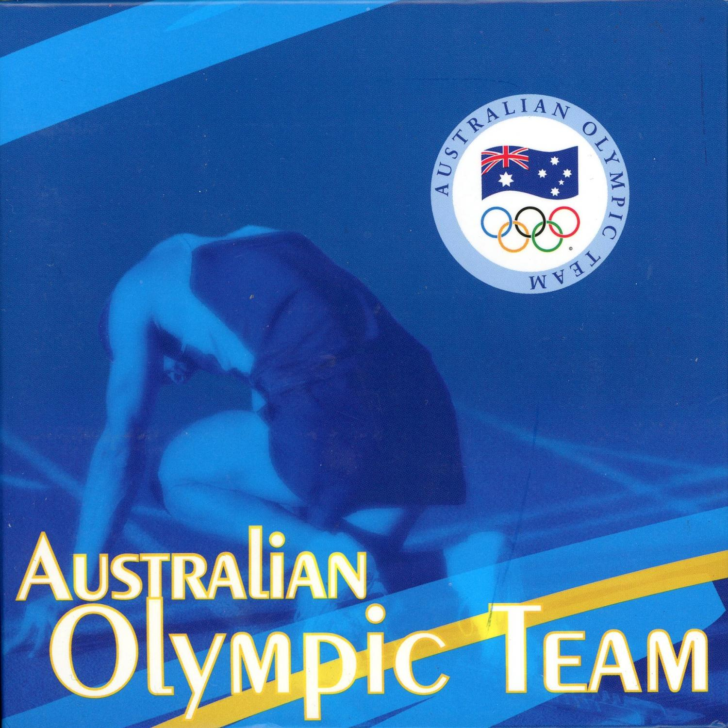 Thumbnail for 2008 Australian Olympic Team 1oz Coloured Silver Proof