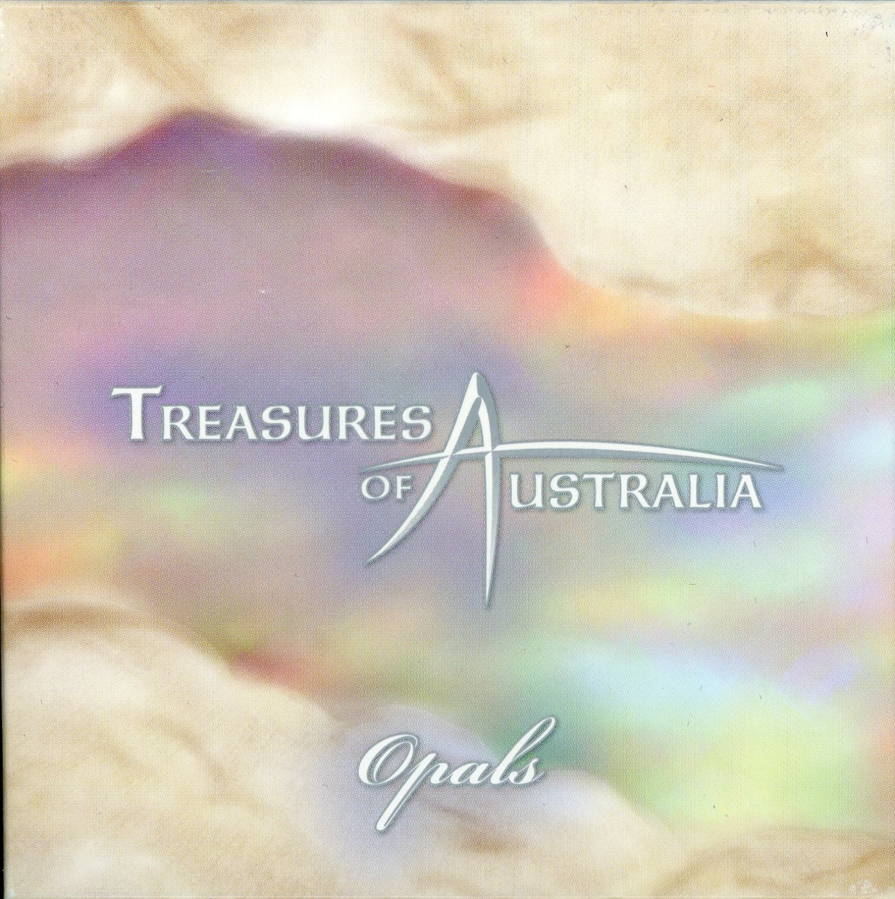 Thumbnail for 2008 Treasures of Australia 1oz Silver Locket Coin - Opal