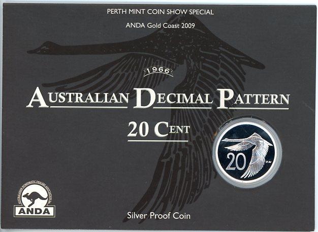 Thumbnail for 2009 Australian Decimal Pattern