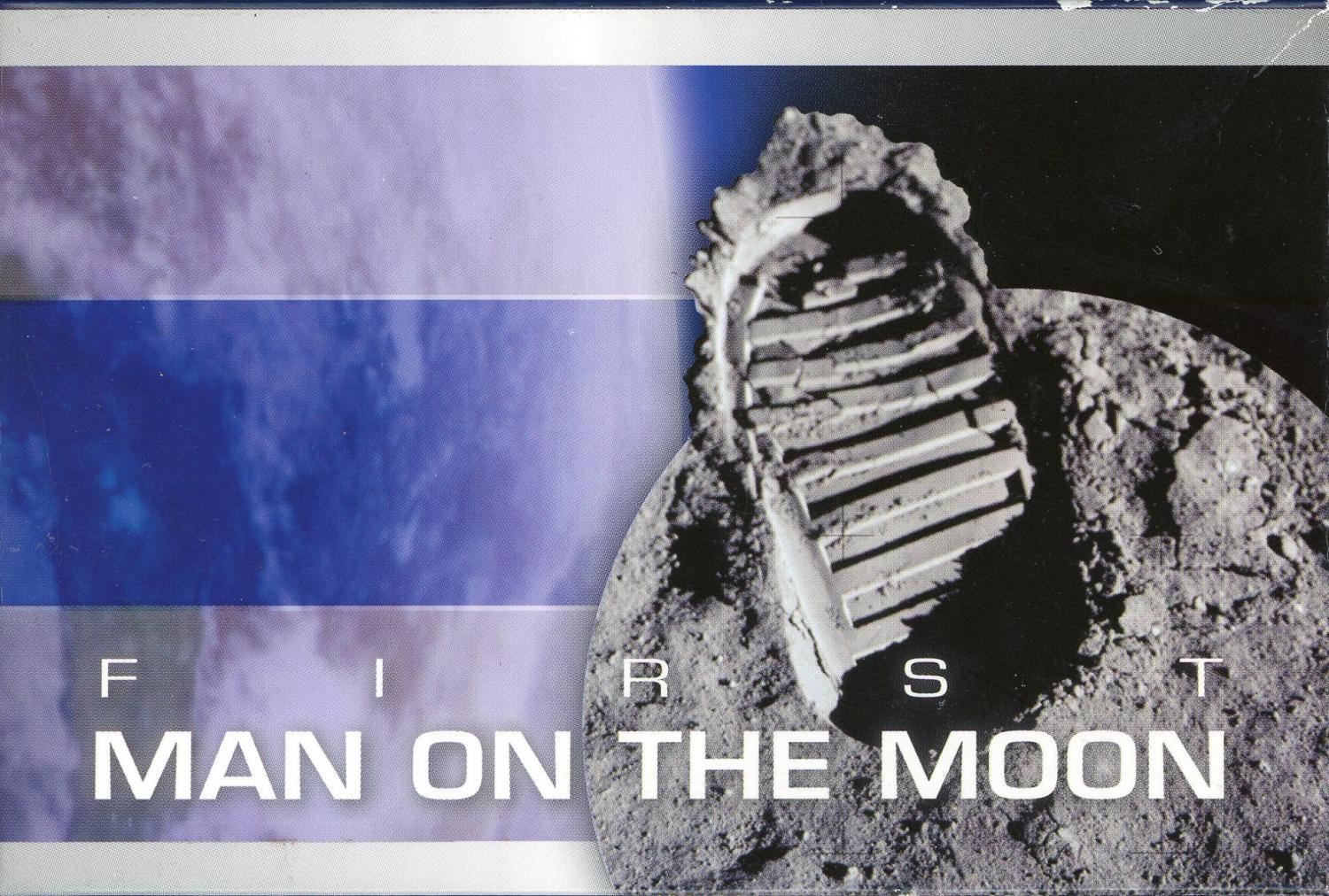 Thumbnail for 2009 First Man on Moon Coloured 1oz Silver Coin - Cook Islands