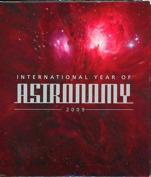 Thumbnail for 2009 International Year of Astronomy 1oz Coloured Silver Proof