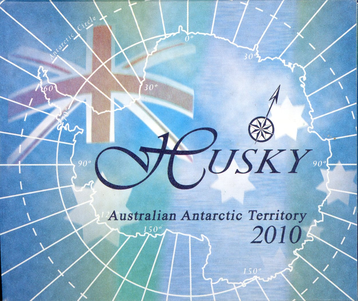 Thumbnail for 2010 1oz Coloured Silver Proof - Australian Antarctic Territory Husky