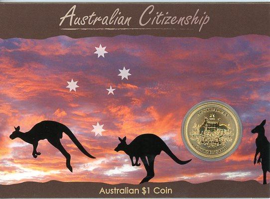 Thumbnail for 2010 Australian Citizenship Uncirculated Dollar