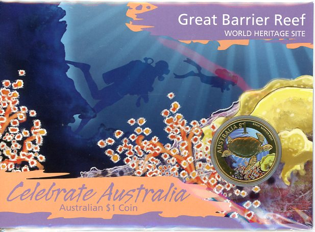 Thumbnail for 2010 Celebrate Australia Coloured Uncirculated - Great Barrier Reef