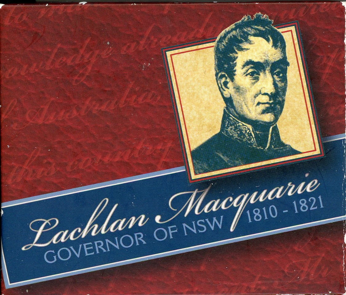 Thumbnail for 2010 Lachlan MacQuarie Governor of New South Wales 1810-1821