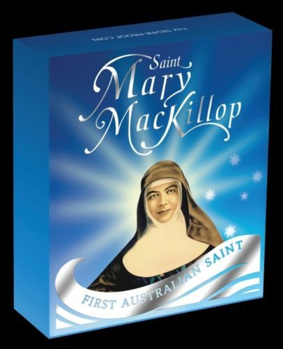 Thumbnail for 2010 Mary Mackillop Coloured 1oz Silver Proof Coin