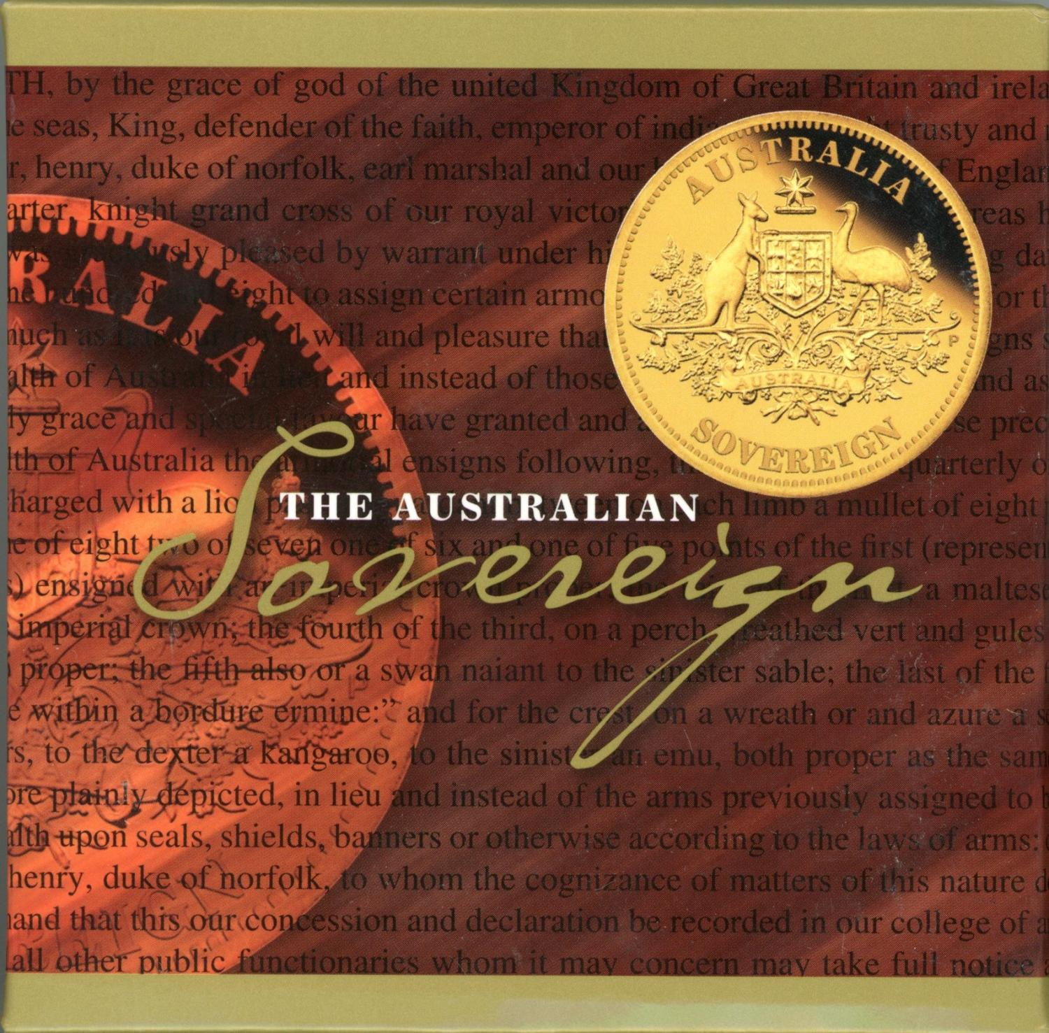 Thumbnail for 2011 Australian Perth Mint Proof Gold Sovereign
