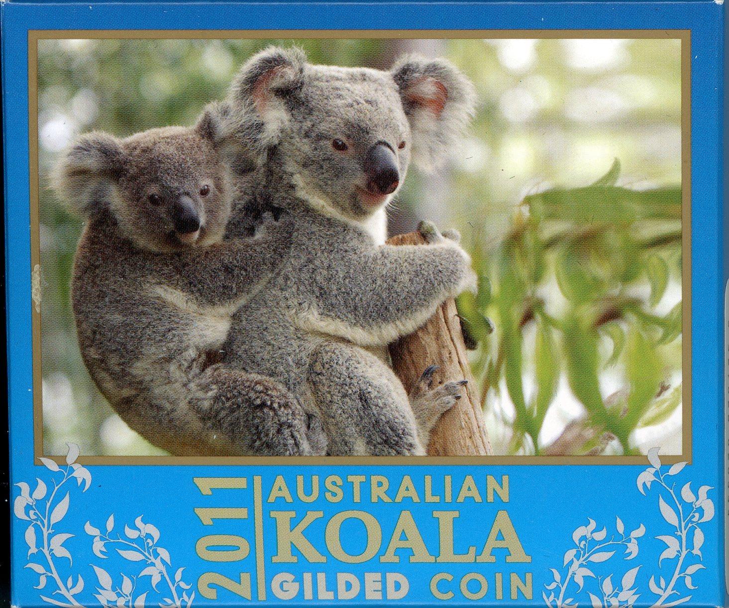 Thumbnail for 2011 1oz Silver Gilded Koala