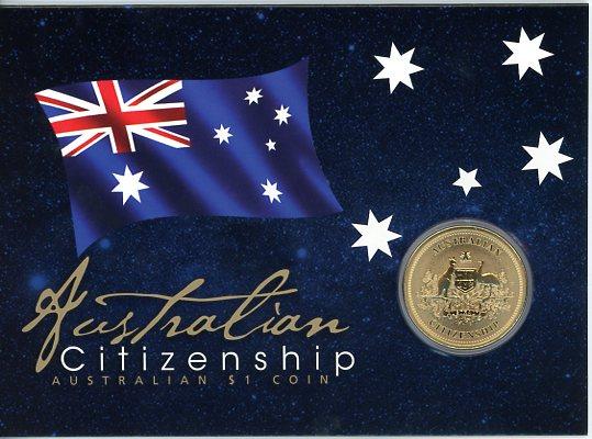 Thumbnail for 2011 Australian Citizenship Uncirculated Dollar
