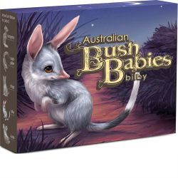 Thumbnail for 2011 Bush Babies Half oz Coloured Silver Proof - Bilby