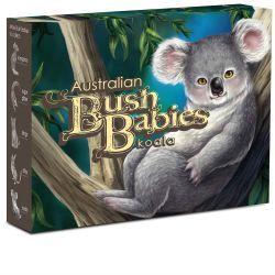 Thumbnail for 2011 Bush Babies Half oz Coloured Silver Proof - Koala