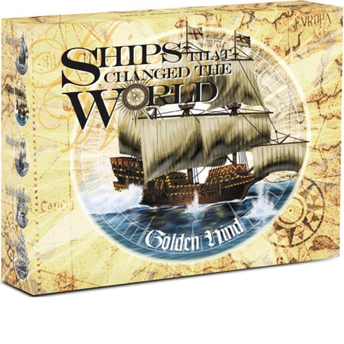 Thumbnail for 2011 Tuvalu Coloured 1oz Silver Proof Ships That Changed the World - Golden Hind