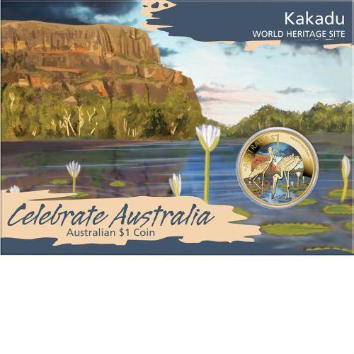 Thumbnail for 2012 Celebrate Australia Coloured Uncirculated $1 - Kakadu