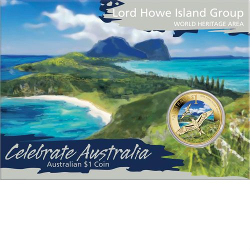 Thumbnail for 2012 Celebrate Australia Coloured Uncirculated $1 - Lord Howe Island Group