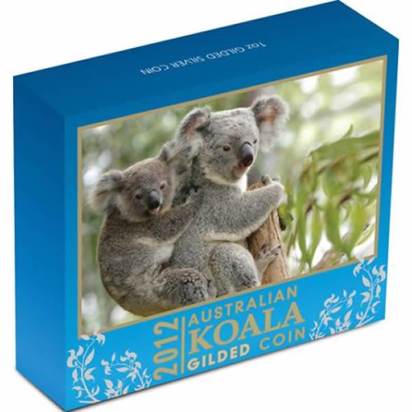 Thumbnail for 2012 5oz Silver Proof Coin Australian Koala