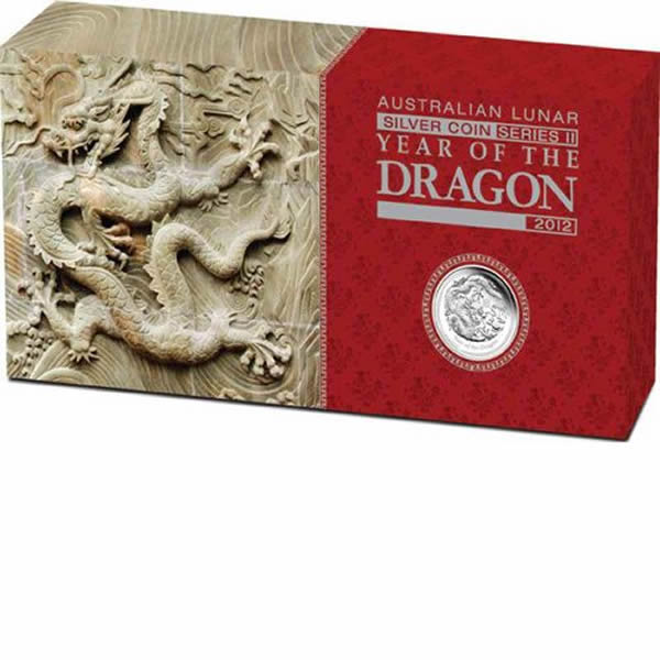 Thumbnail for 2012 Australian Lunar Series II Year of the Dragon 3 Coin Proof Set