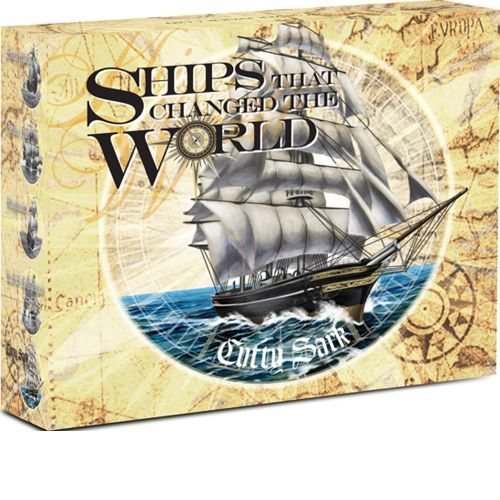 Thumbnail for 2012 Tuvalu Coloured 1oz Silver Proof Ships That Changed the World - Cutty Shark