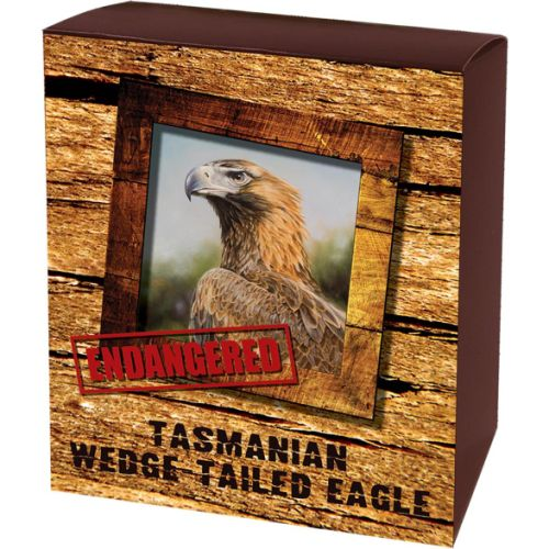 Thumbnail for 2012 Tuvalu Endangered Series - Tasmanian Wedge-Tailed Eagle