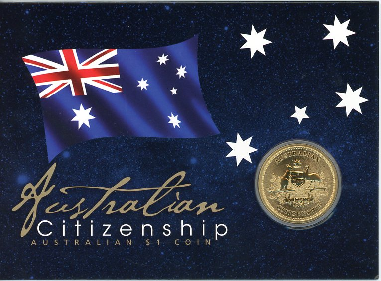 Thumbnail for 2012 Australian Citizenship One Dollar Coin