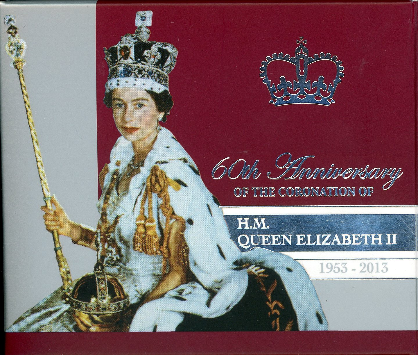Thumbnail for 2013 1oz Silver Proof Coin 60th Anniversary of the Coronation of Queen Elizabeth II