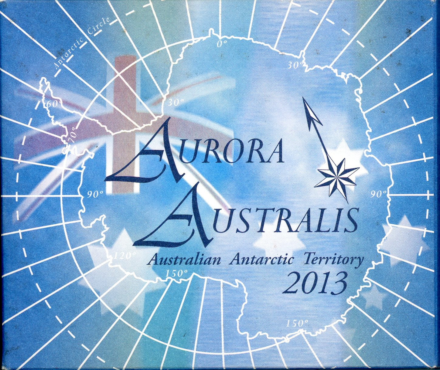 Thumbnail for 2013 Australian Antarctic Territory 1oz Coloured Silver Proof Coin - Aurora Australis