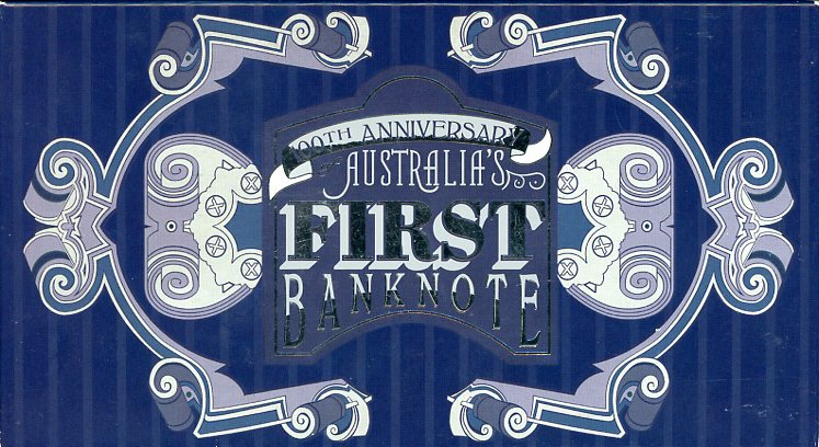 Thumbnail for 2013 Australian Banknote 100th Anniversary 1oz Coloured Silver Coin & Stamp Set