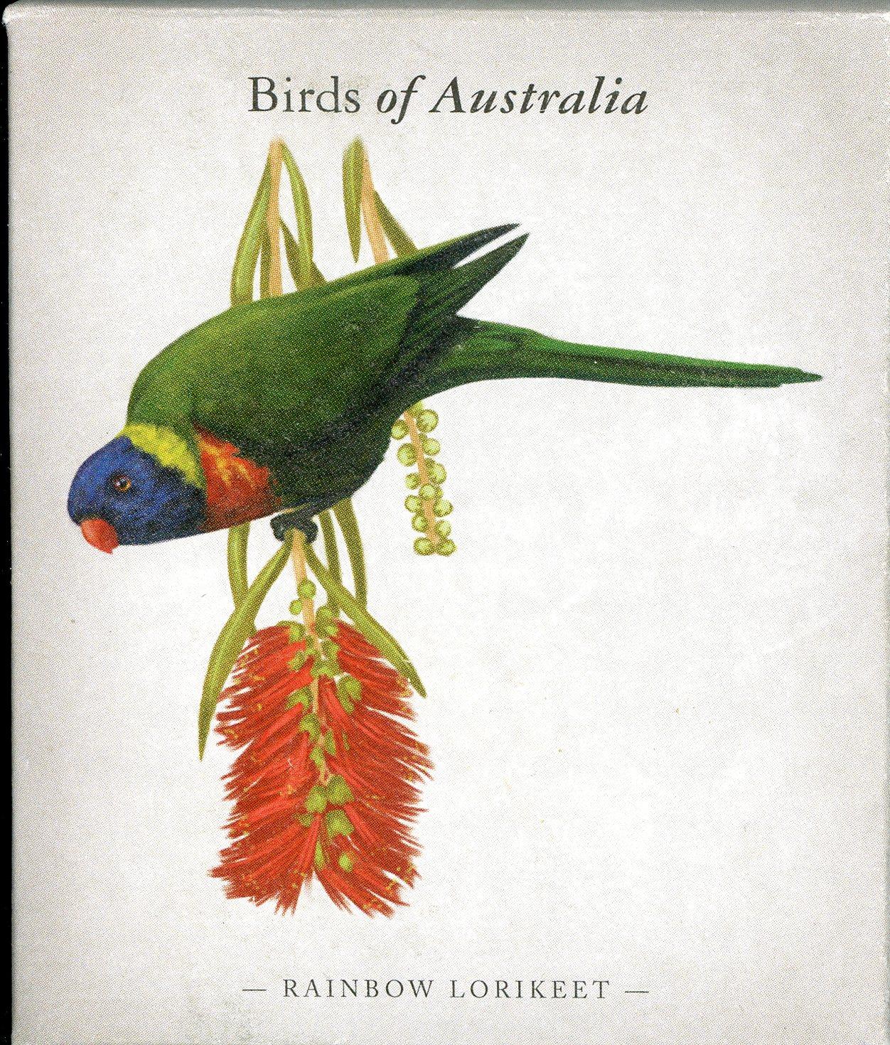 Thumbnail for 2013 Australian Half oz Coloured Silver Proof Birds of Australia - Rainbow Lorikeet