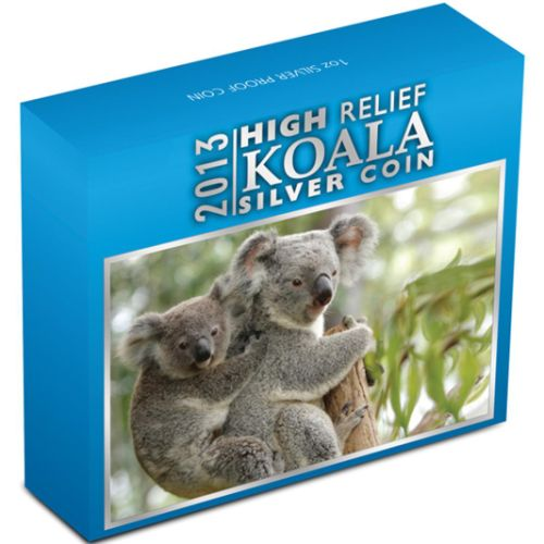Thumbnail for 2013 1oz Silver Koala High Relief.