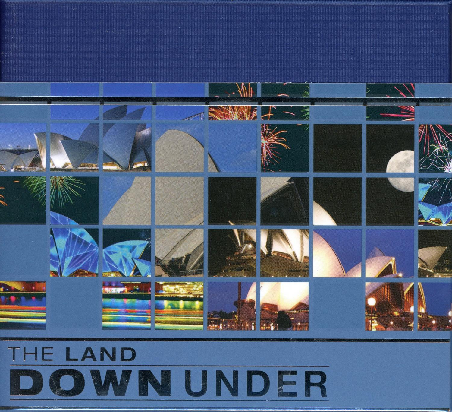Thumbnail for 2013 The Land Down Under 1oz Coloured Silver Proof - Sydney Opera House