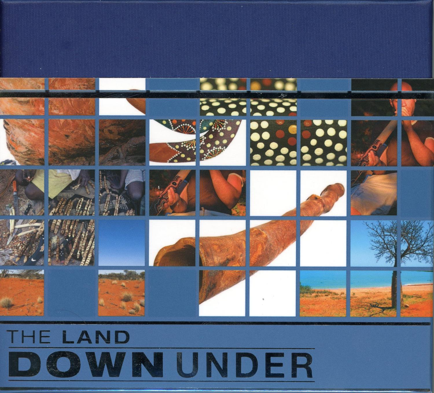 Thumbnail for 2013 The Land Down Under 1oz Coloured Silver Proof - Culture Didgeridoo