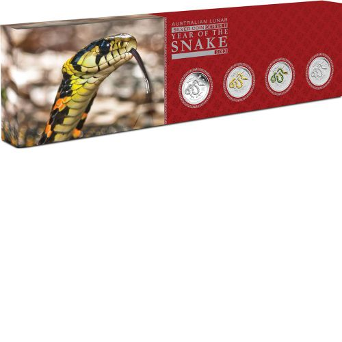 Thumbnail for 2013 Year of the Snake Four Coin Set